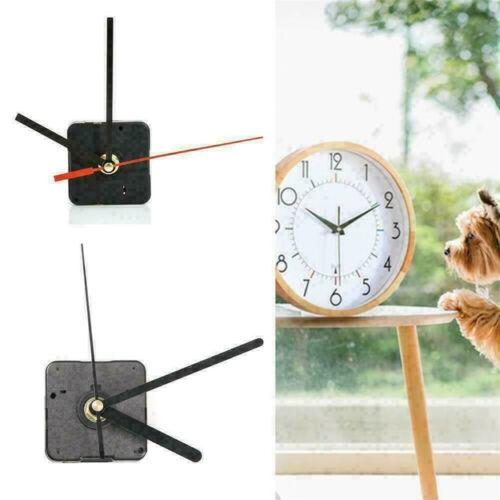 Silent DIY Clock Quartz Movement Mechanism Hands Replacement Part Black US.