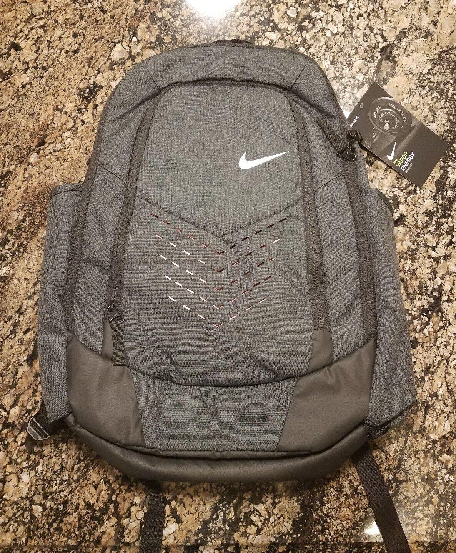 Max Air Backpack Gym School Energy Training Red Vapor Nike BA5477 Grey Bag JTFl1cK