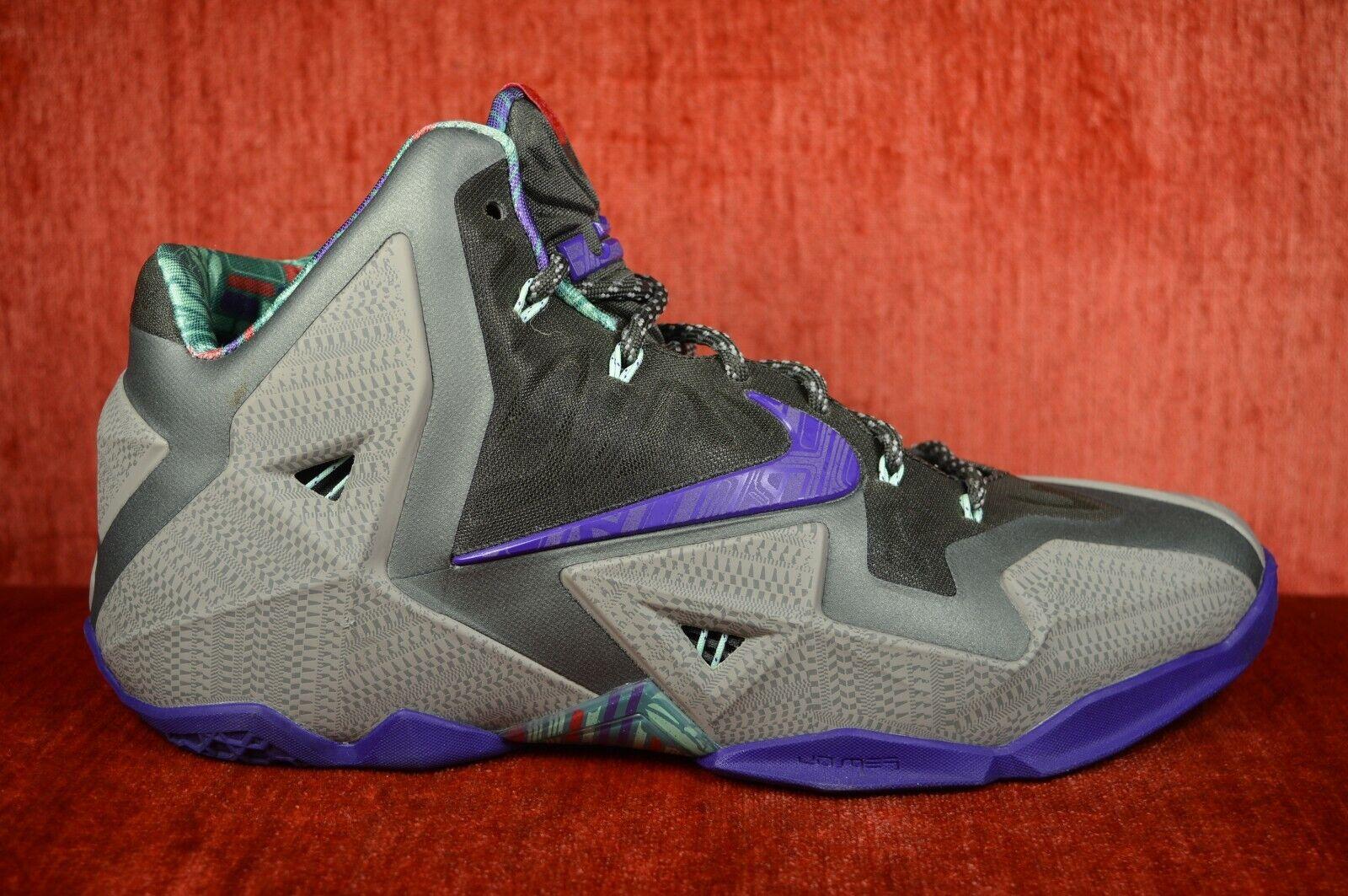 CLEAN  Nike Lebron XI 11 Terracotta Guerriero Grigio viola 6175 -005 Dimensione 10  outlet online