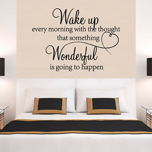 Details about heart family Wonderful bedroom Quote Wall Stickers Art Room  Removable Decals DIY