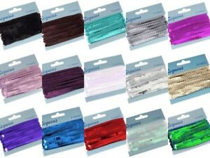 5-METRES-OF-FLAT-STRUNG-6MM-SEQUINS-TRIM-MANY-COLOURS-TO-CHOOSE-FROM