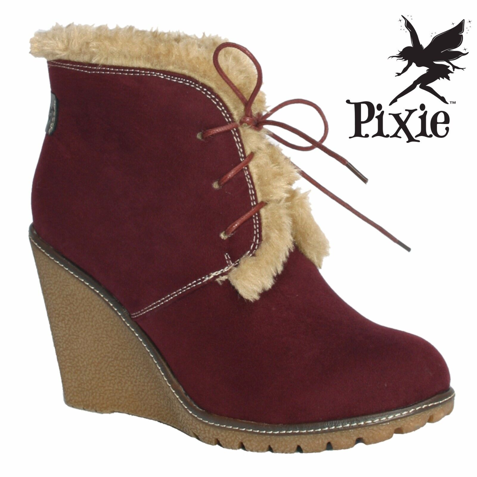 Pixie Footwear Emily - Ladies Boots. UK sizes 3 - Emily 8 Brand New In Box 447c6d