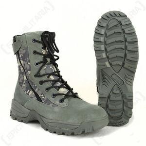 Digital Camo Tactical Army Boots - 2