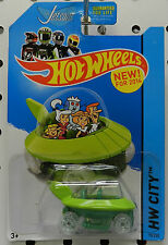 CARTOON TV SHOW CAR 2014 CAPSULE THE JETSONS 090 GEORGE CITY HW HOT WHEELS