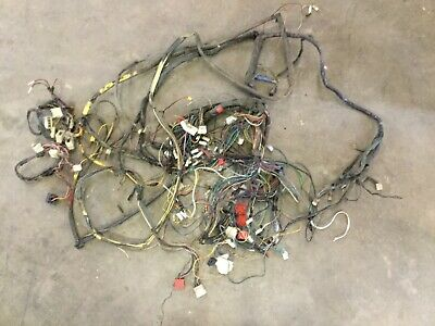 fiat 124 spider 1974 - complete wire harness assembly. used. f2483 | ebay  ebay