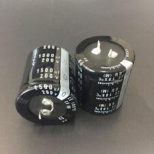 Rifa 1500uF 500V electrolytic capacitor long life valve tube amplifier LOT OF 2