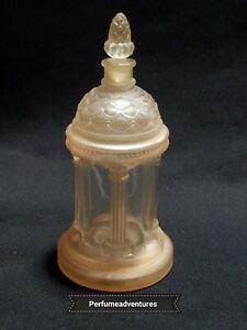 RARE-PAVILLON-ROYAL-c-1924-by-MARCEL-GUERLAIN-GAZEBO-SHAPED-ANTIQUE-PERFUM