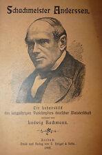 RARO SCACCHI - Ludwig Bachmann: Schachmesister Anderssen 1902 Brugel Chess 1a ed