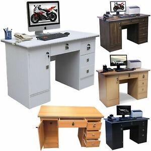 Brilliant Details About Computer Desk Office Desk Pc Desks Computer Workstation 4 Home Office Furniture Download Free Architecture Designs Momecebritishbridgeorg
