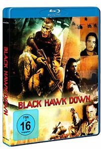 BLACK Hawk Down [Blu-Ray/Nuovo/Scatola Originale] US-INSERTO militare in Somalia, che si per tra