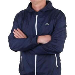 Sport Sweatshirt Track Hooded Lacoste Jacket Large Rrp Top £130 Ctdw6qxE6R