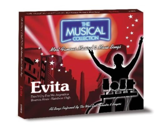 The Musical Collection Evita (US IMPORT) CD NEW