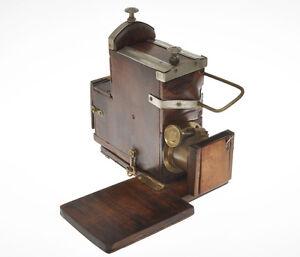 Faller-rare-wood-Ferrotype-camera-end-XIX-century