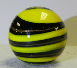 #12509m Handmade Contemporary Swirl Marble With Lutz 1.47 Inches