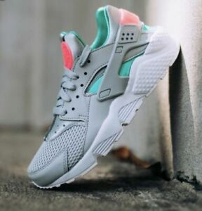Nike Air Huarache Run South Beach Grey Size 8.5. 318429-053 max ... 5f9b05e74