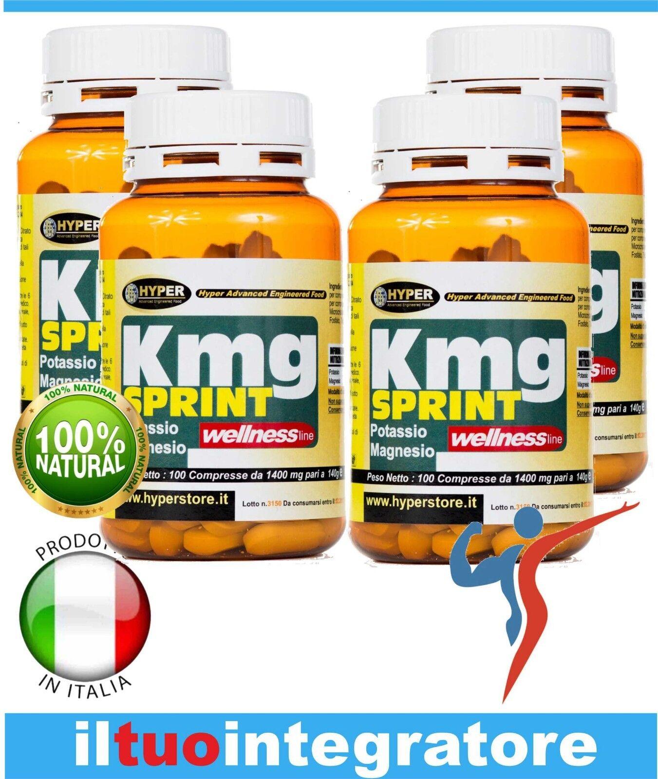 Magnesium und Kalium Müdigkeit energisch Mineralien Krämpfe 4 BOX 100 Tabletten