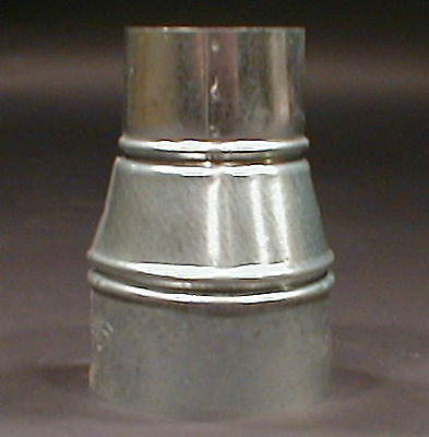 """4"""" x 3"""" Sheet Metal Taper Reducer Dust Collectors Duct"""