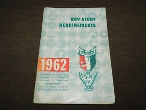VINTAGE BSA BOY SCOUTS OF AMERICA 1962 REQUIREMENTS BOOK