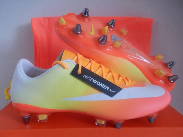 online retailer 0dd14 a2fce WMNS Nike Mercurial Vapor X SG Pro Mango Sz 8.5 Womens/mens Sz 7 749700-800