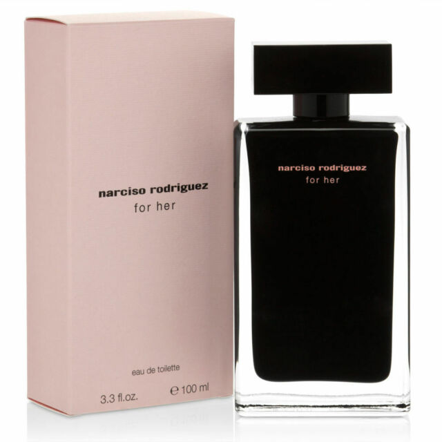 NARCISO RODRIGUEZ FOR HER 100ML EDT WOMEN NEW SEALED BOX.