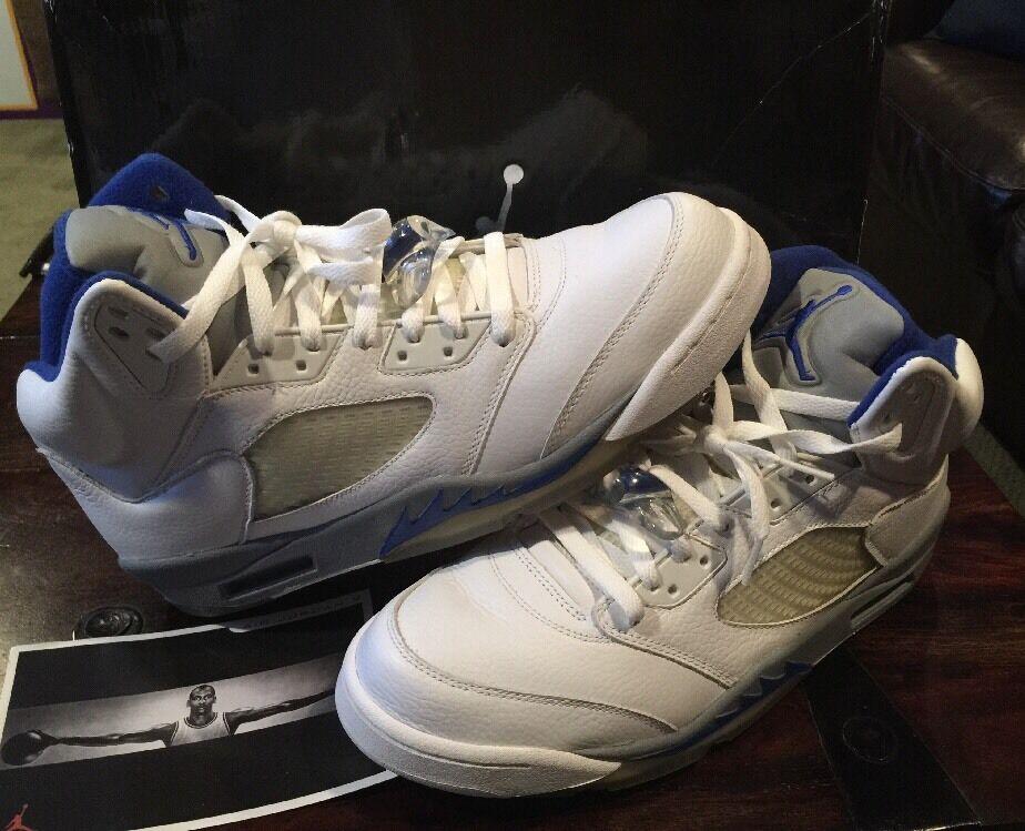 2018 Nike Air Jordan 5 retro V Royal Stealth Hombre de 11,5 agradableEl mas popular de Hombre zapatos para hombres y mujeres 1a5ce3