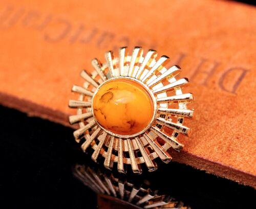 10X Bling Gold Flower Turquoise Leathercraft Belt Hardware Oval Concho Screwback