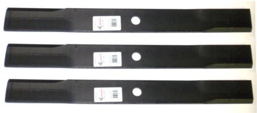 """3 6252 Blades Compatible With JOHN DEERE 750 THRU 1070 72/"""" DECK M141786"""