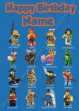PERSONALISED Birthday Card Son Brother Nephew Grandson INDIANA JONES LEGO