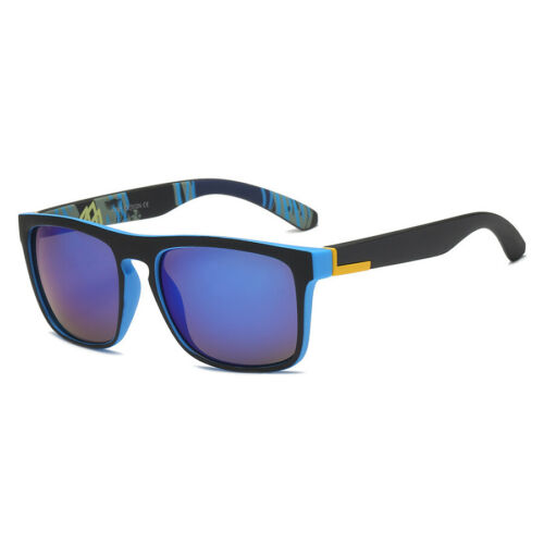 Outdoor Driving Sunglasses Square Frame Mirrored UV400 Goggles for Men Women US