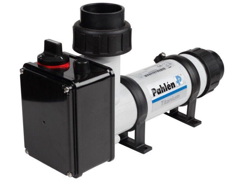 Pahlen Elektroheizer aus Kunststoff   Heizstab Titan 15 kW nicht digital