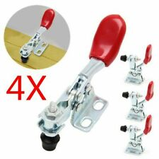 4X Metal Toggle Clamp Quick Toggle Release Horizontal Toggle Clamps GH-201A #AF
