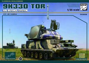 Système de défense antiaérienne Panda 1/35 9k330 Tor # 35008