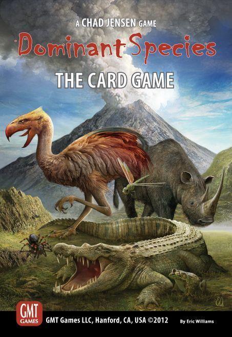 Dominante Espèces Card Game -un GMT Card game - New, English
