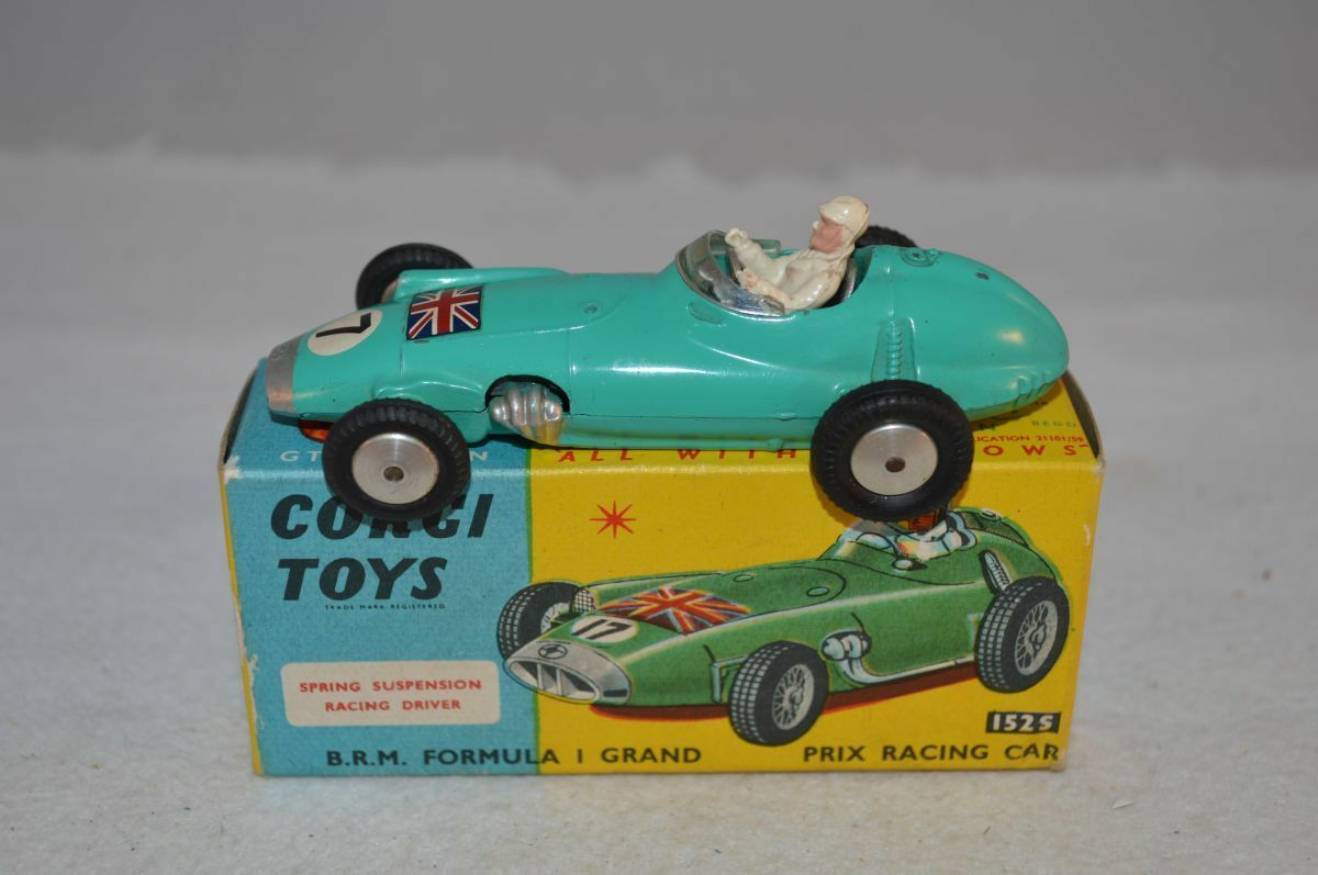 Corgi Toys 152S BRM Formula 1 Grand Prix very near mint in box