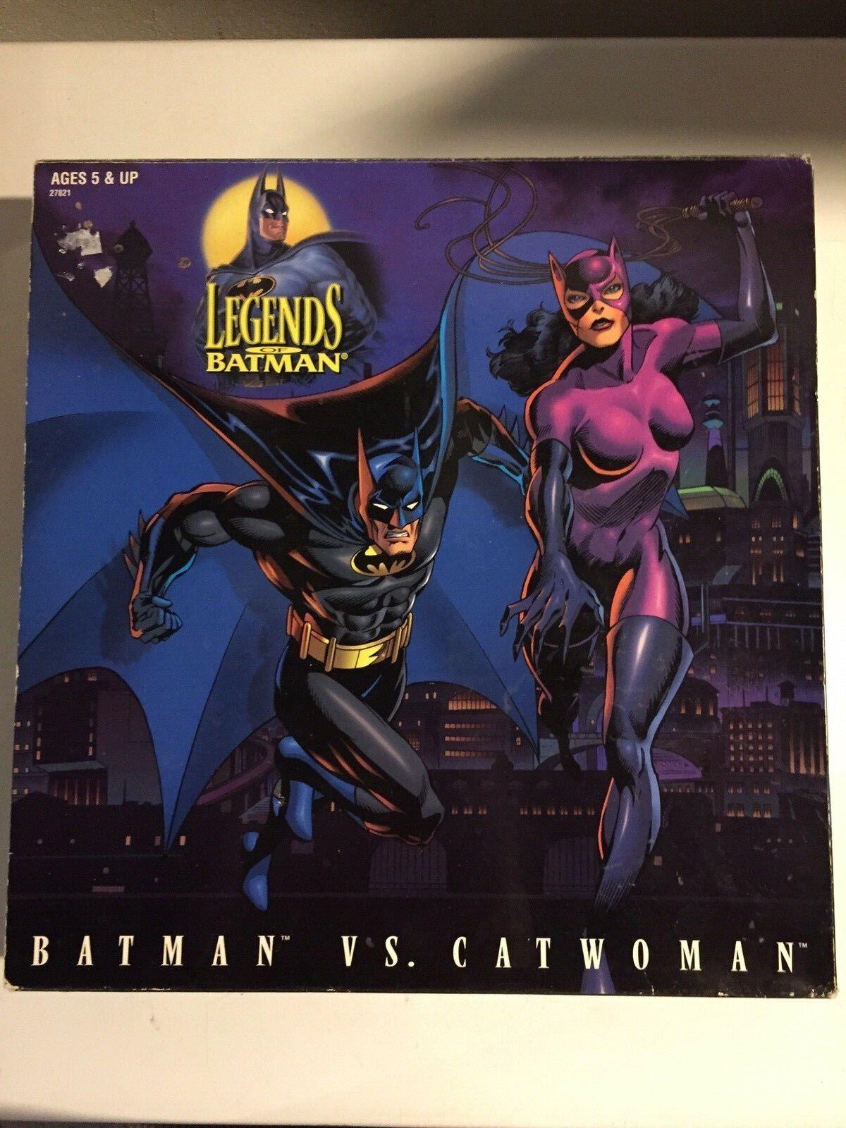 Kenner-Collectors Edition- Legends of Batman-Batman vs Catwoman 1996 12  NEW