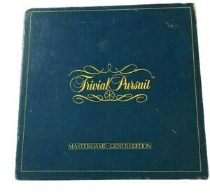 Trivial-Pursuit-Master-Board-Game-Genus-Edition-Parker-Brothers-1983-Vintage