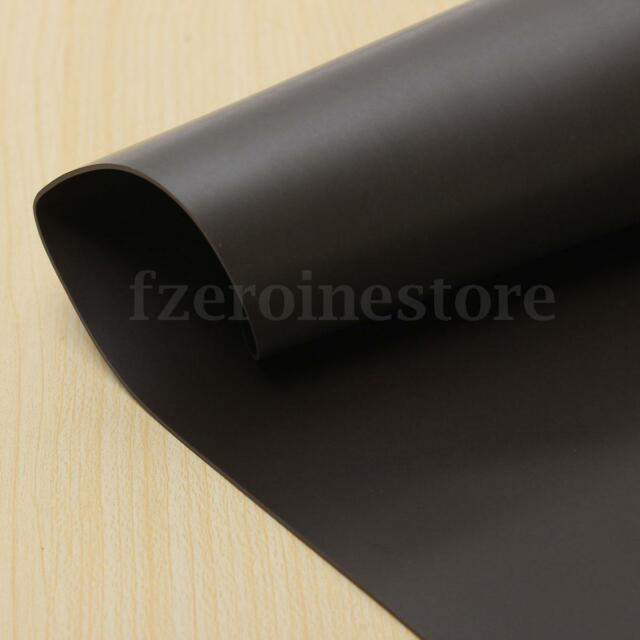 A4 Self Adhesive Flexible Magnetic Strip Tape Strong Magnet Sheet 297x210x1MM