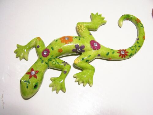 Formano 1* Deko Lurch Frosch Retro Neon grün oder orange aus Kunststein DEKO NEU