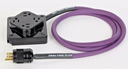 Analysis Plus Power Oval Ten w//4 Box 10AWG IEC 120v 15A Power Cable 4ft