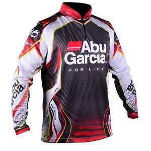 Abu garcia long sleeve pro tournament fishing shirt brand for Saltwater fishing clothes