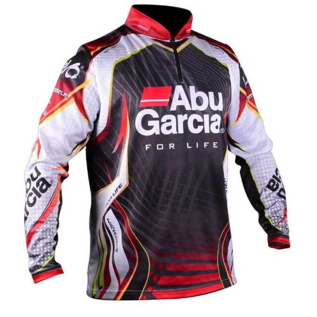 Abu Garcia Long Sleeve Pro Tournament Fishing Shirt BRAND NEW + All Sizes