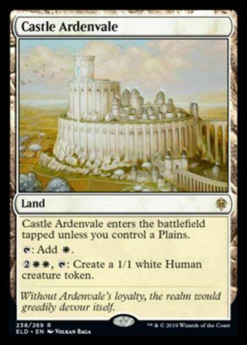 Rare Land Throne of Eldraine ELD MTG: Castle Ardenvale Preorder