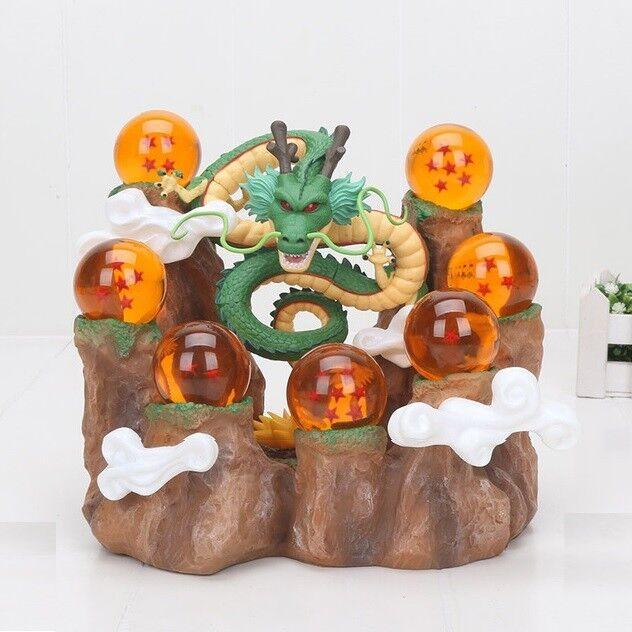 Dragon BALL FIGURA Dragone SHENRON FIGURE SFERA DA Dragone, 7 palle di Dragone