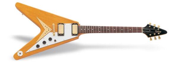 epiphone 1958 korina flying v electric guitar ebay. Black Bedroom Furniture Sets. Home Design Ideas