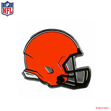 New NFL Cleveland Browns Premium 3-D Aluminum Helmet Sticker Decal Emblem