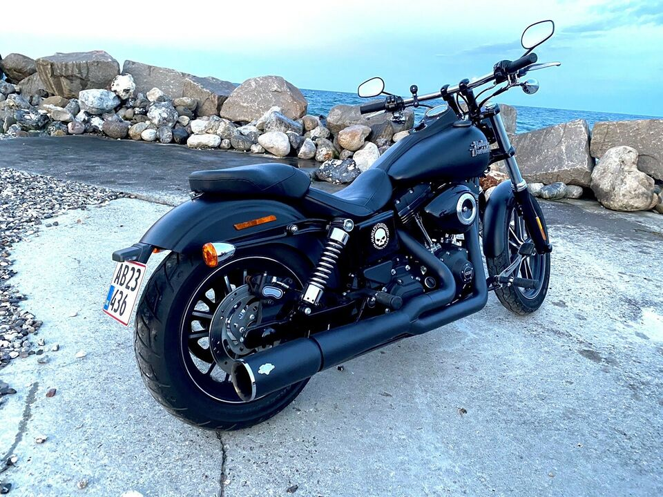 "Harley-Davidson, Street Bob special 103"", 2016"