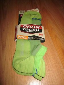 Darn Tough   No show Ultra  Light Women/'s Sock Green  XL