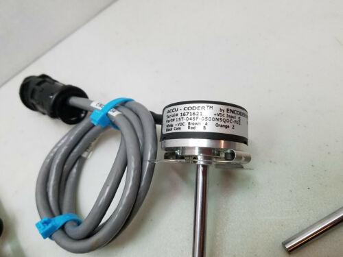 2 Encoder Products ACCU-CODER 15T-04SF-0500N5QOC-F03 Incremental Encoder