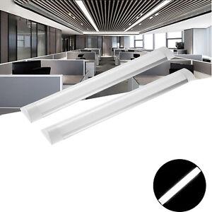 2x 60cm LED Tube Röhre Lampe Leuchtstoffröhre Lichtleiste Deckenleuchte Kaltweiß