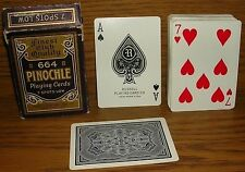 Spielkarten USA playing cards Pinochle 664 Russell High Finish